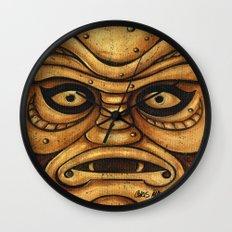 TIKI Creature Wall Clock
