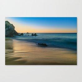 Golden Sand at Sunrise Canvas Print