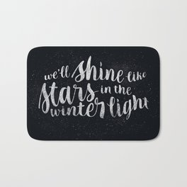 Shine like Stars - Winter Bath Mat