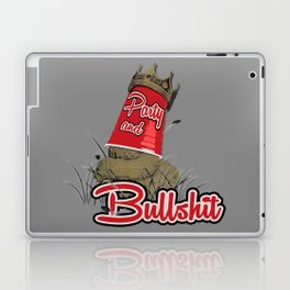 Party & Bullshit Laptop & iPad Skin