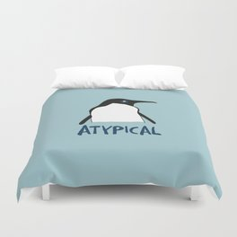 Atypical penguin Duvet Cover