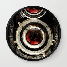 retro reflex photograph camera Wall Clock