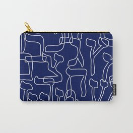 Hebrew Alphabet Seamless Pattern Carry-All Pouch