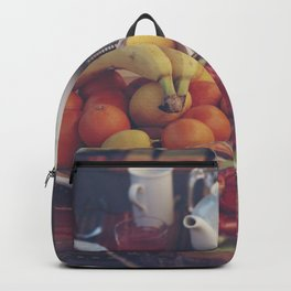 Food photography, fruit still life, kitchen wall art, bed & breakfast, food porn, fine art Backpack