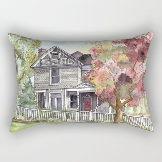 Springtime in the Country Rectangular Pillow