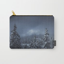 Moody Skies - Mount Rainier National Park Carry-All Pouch