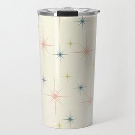 Mid Century Modern Stars Travel Mug