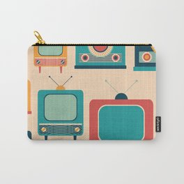 Retro TVs and Radios Carry-All Pouch
