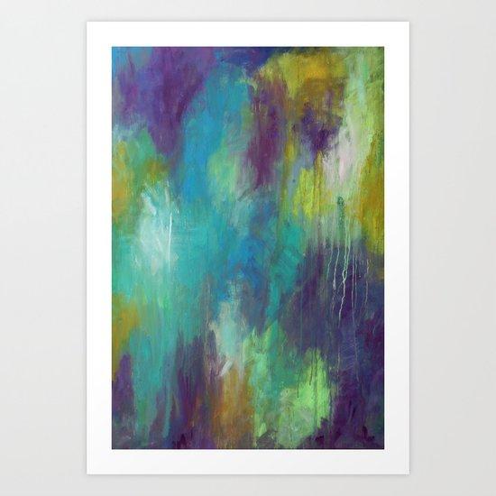 Visions of Spring Art Print
