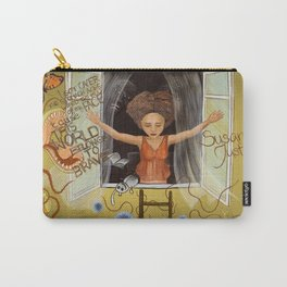 Susan Justice Carry-All Pouch