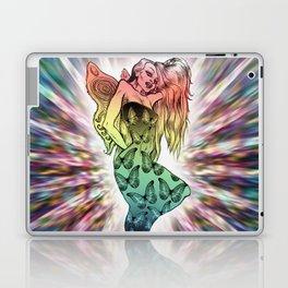Rainbow Unicorn Nymph Laptop & iPad Skin