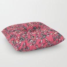 Red Koi Floor Pillow