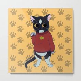 thesweatercats C3 Metal Print