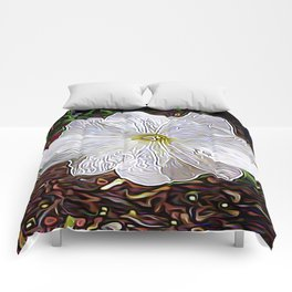 Enchanted Flower Comforters