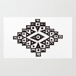 Eye of the Explosion Rug