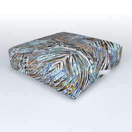 Into the blue Outdoor Floor Cushion