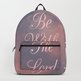 """' The Lord Be With You """" Backpack"""