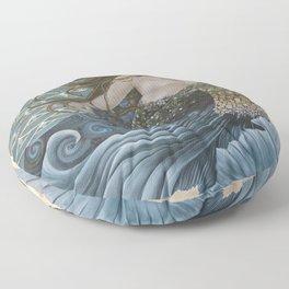 Mermaid Bliss Floor Pillow