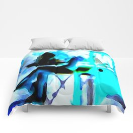 Ghostly Nightclub Comforters