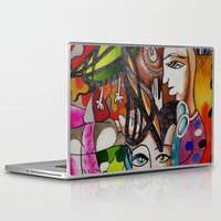 death Laptop & iPad Skins featuring Death by LuxMundi
