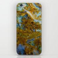 tie dye iPhone & iPod Skins featuring Tie Dye by Ian Bevington