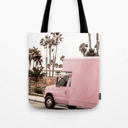 Blush Tropical Venice Tote Bag