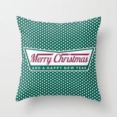 Have A Merry Krispy Christmas Throw Pillow