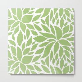Bloom - Olive Metal Print