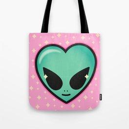 Alien cutie Tote Bag