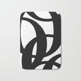 Hidden Letters. Baskerville O Bath Mat