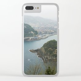 La Concha Beach, San Sebastian - Donostia-San, Spain II Clear iPhone Case