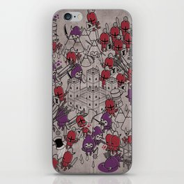 The Great Battle of 1211 iPhone Skin