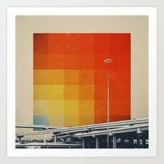Orange Crush I Art Print