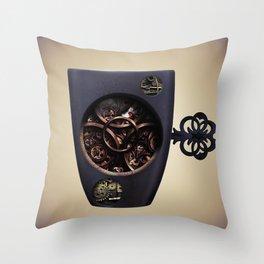 The Mechanic Coffee Throw Pillow