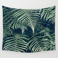 fern Wall Tapestries featuring Fern by Rupert & Company