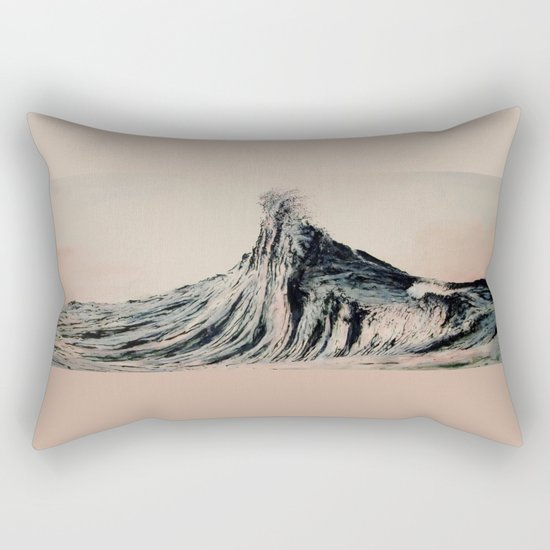 The WAVE #2 Rectangular Pillow