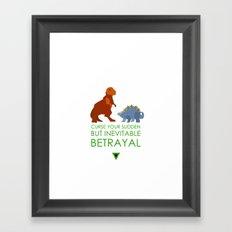firefly betrayal Framed Art Print