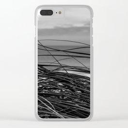 Sea Grass Clear iPhone Case