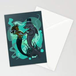 A Mermaid's Dance Stationery Cards