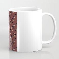 loves me loves me not pattern - oxblood Mug