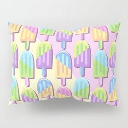 Ice Lollipops Popsicles Summer Punchy Pastels Colors Pattern Pillow Sham