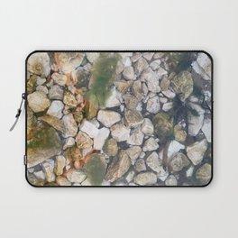 Underwater stones Laptop Sleeve
