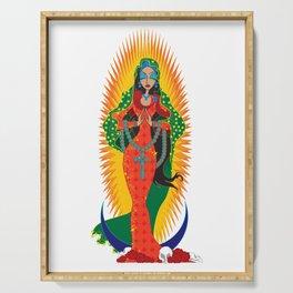 La Virgen de Guadalupe Serving Tray