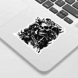 Skull collage,custom gift design Sticker