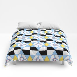 symetric patterns 46 -mandala,geometric,rosace,harmony,star,symmetry Comforters