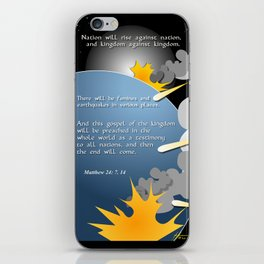 Nation Will Rise Against Nation iPhone Skin