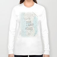 looking for alaska Long Sleeve T-shirts featuring Looking for Alaska by Hoeroine