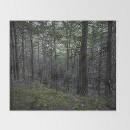 Poconos Forest Throw Blanket