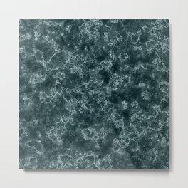 Creative graphic pattern. Marble. Metal Print