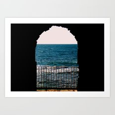 Through Art Print
